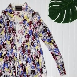 Anthropologie | Guinevere Floral Cardigan
